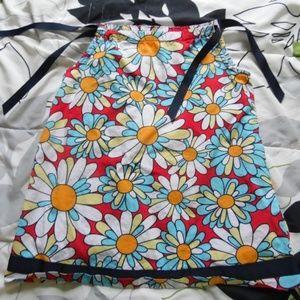Cotton Floral, Boho, Retro Pillowcase Dress, 90/3T